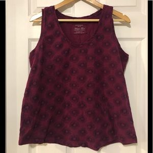 5/$30 Purple Relaxed Fit Tank